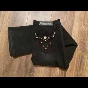 LA Idol black jeans